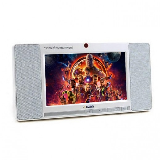 "Kzen 7"" 8GB Home Entertainment Tablet - White"