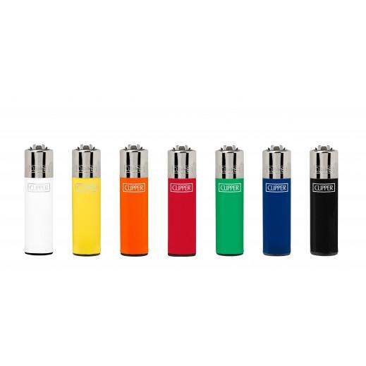 Clipper Classic Pocket Plain Lighter (Assorted Colors1 Piece)