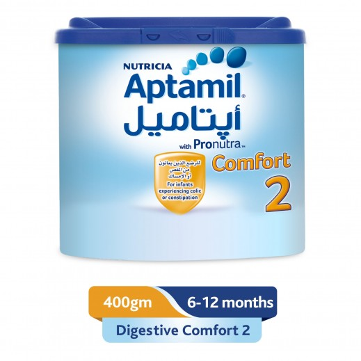 Aptamil Follow On Formula Milk Comfort Stage 2 400 g ( From 6-12 Months)
