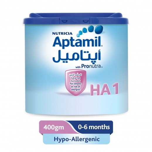 Aptamil Hypo-Allergenic Infant Milk 400 g Stage 1 (0 - 6 Months)