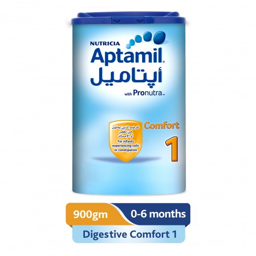 Aptamil Infant Milk Formula Comfort Stage 1 900 g (From 0-6 Months)