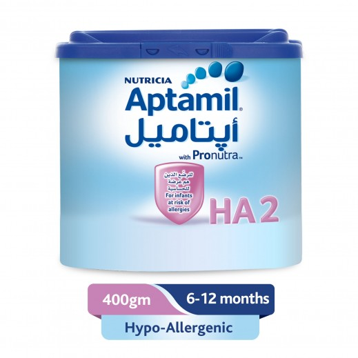 Aptamil Hypo-Allergenic Infant Milk 400 g Stage 2 (6 - 12 Months)