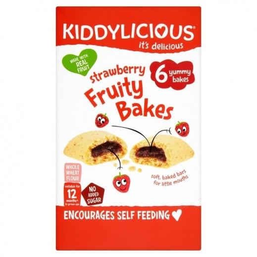 Kiddylicious Strawberry Fruity Bake (12+ Months) 132 g