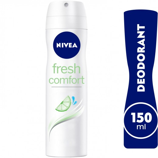 Nivea Fresh Comfort Deodorant Spray Women 150 ml