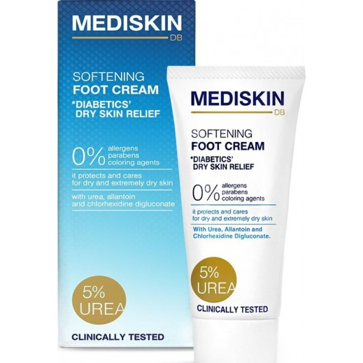 Mediskin DB - Diabetics Foot Cream with Urea 75 ml