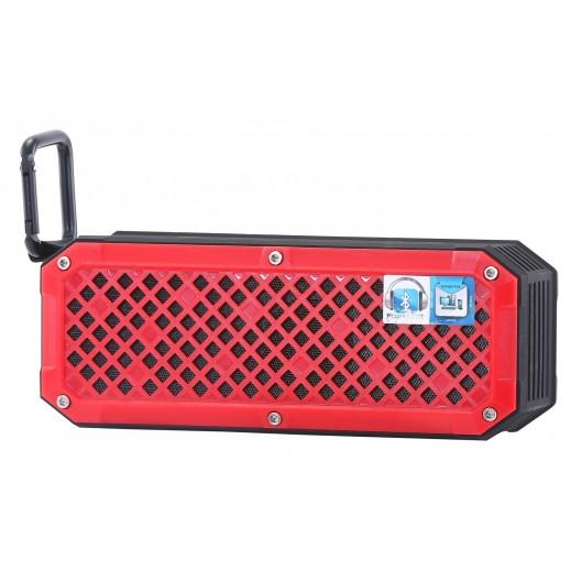 GEEPAS Rechargeable Bluetooth Speaker – Red& Black