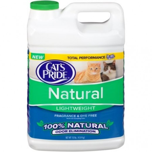 Cats Pride Scoopable Natural Light weight Clumping Cat Litter 4.54 kg
