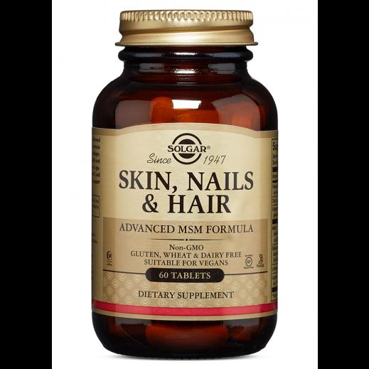 Solgar Skin Nail & Hair Formula - 60 Tablets
