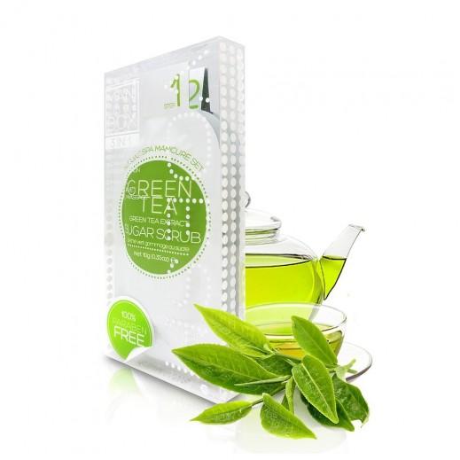 Voesh Mani Green Tea Sugar Foot & Hand Scrub