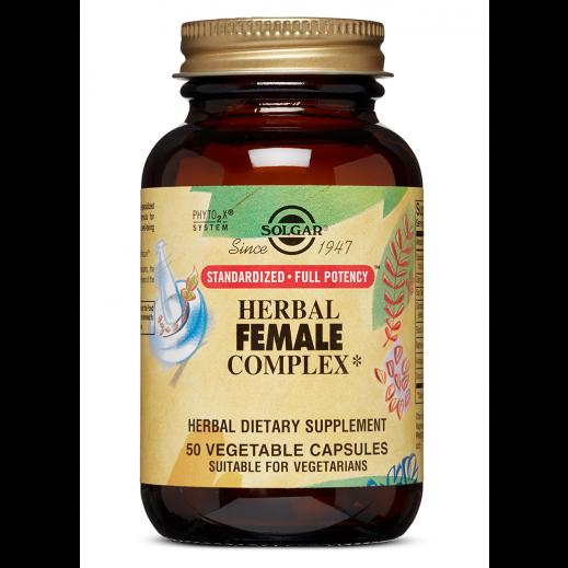 Solgar SFP Herbal Female Complex - 50 Vegetable Capsules