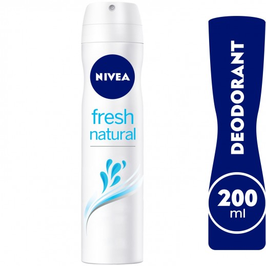 Nivea Fresh natural Deodorant Spray Women 200ml