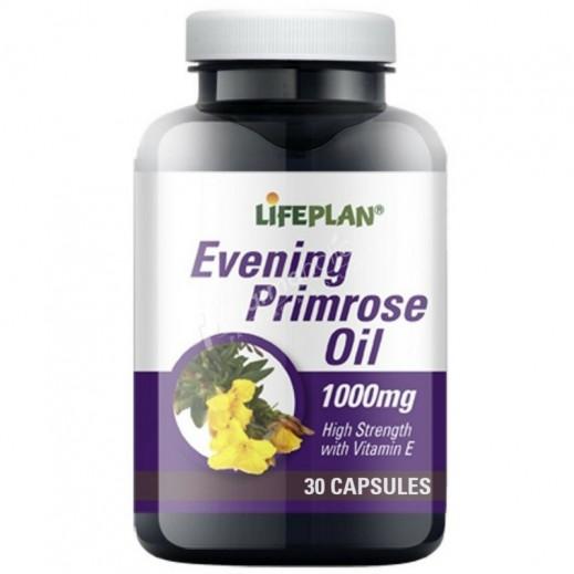 Lifeplan Evening Primrose Oil - 30 Capsules