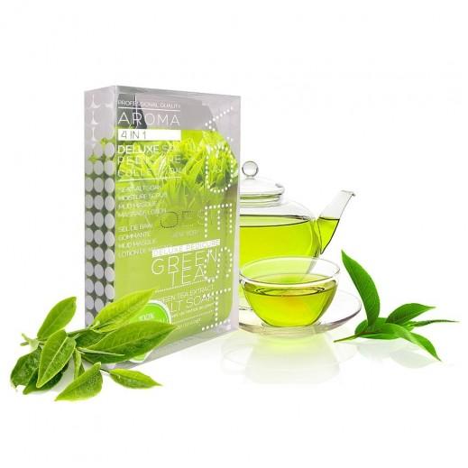 Voesh Green Tea Detox With Foot & Hand Sugar Scrub