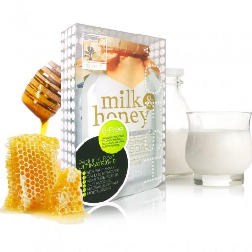 Voesh Milk & Honey Foot & Hand Scrub