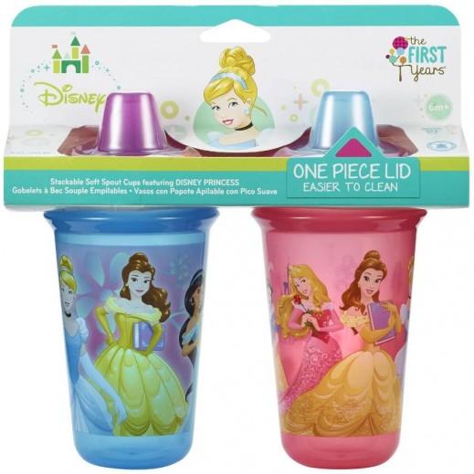 Disney Stackable Soft Spout Cup 266.16 ml 2 Pieces