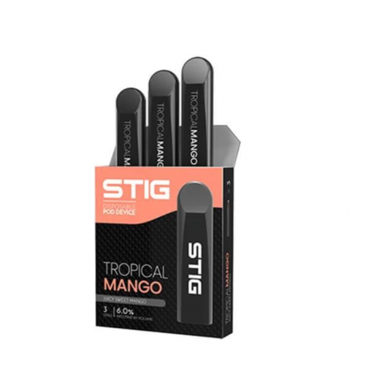 Stig Disposable Pod System 3 Stigs -Tropical Mango
