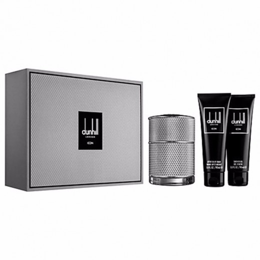 Dunhill Icon Gift Set For Him EDP 50 ml + Shower Gel 90 ml + After Shave Balm 90 ml