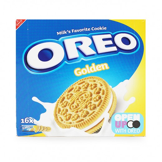 Oreo Golden Cookies Biscuits 16×44g