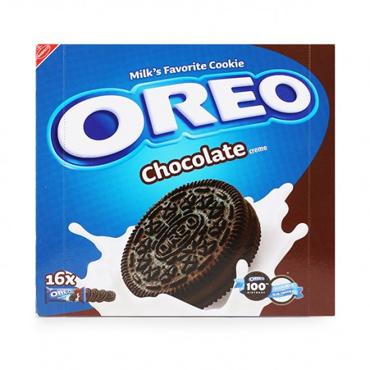 Oreo Chocolate Crème Cookies Biscuits 16×44gm