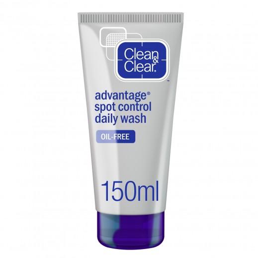 Clean & Clear Daily Facial Wash Advantage - Spot Control - 150ml