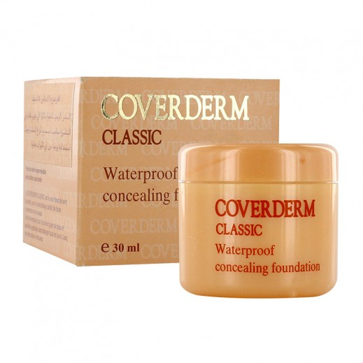 Coverderm Classic Waterproof Concealing Foundation 30 ml