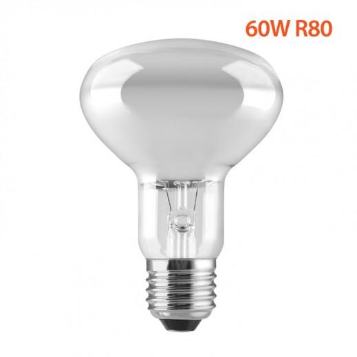 GE 60W R80 reflector