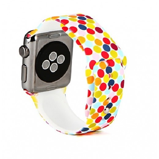 Wrist Strap for Apple Watch 42 mm - Multi color