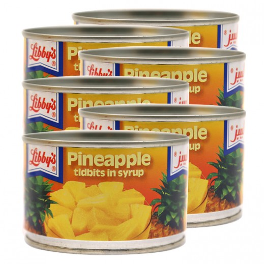 Libbys Pineapple Slices 6 x 235 g Prom