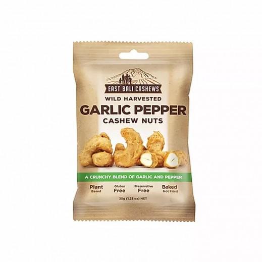 East Bali Cashews Gluten Free Garlic Pepper Cahsew Nut Snacks 35 g