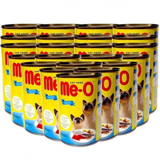 Wholesale - Me-O Tuna In Jelly Adult Cat Food 24x400 g