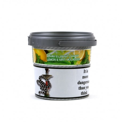 Al-Waha Light Lemon With Mint Flavoured Molasses Tobacco 250 g