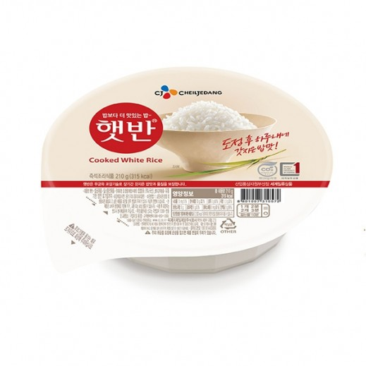 Cheiljedang Instant Cooked White Rice 210 g