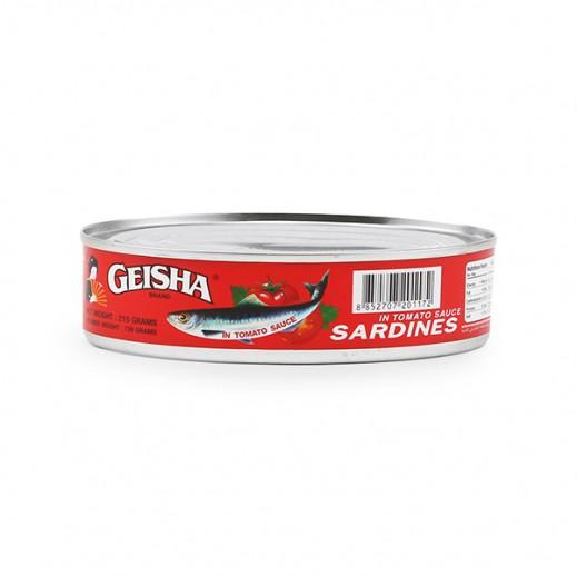 Geisha Sardines In Tomato Sauce 215g