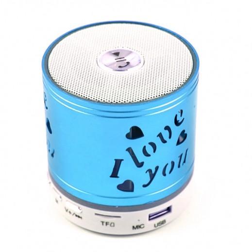 Music Mini Wireless Speaker - Blue