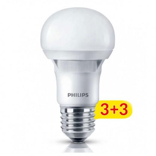 Philips 8 W LED SPOT -  Daylight - 3+3 Free
