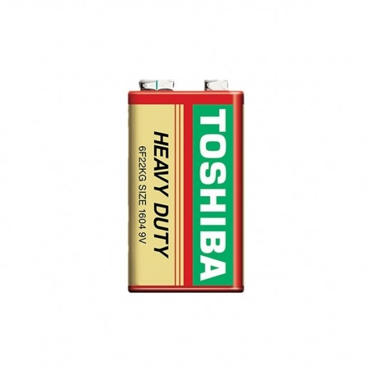 Toshiba 9V Carbon Zinc Heavy Duty Battery