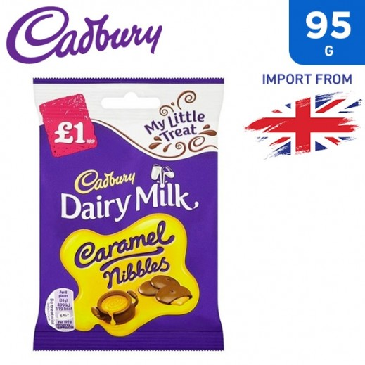 Cadbury Dairy Milk Caramel Nibbles 95 g
