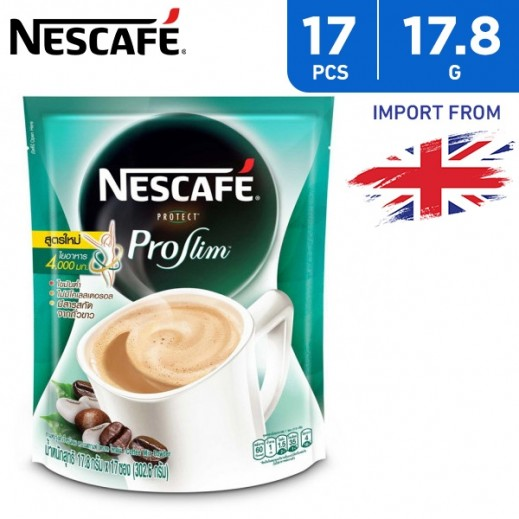 Nescafe Protect Proslim Instant Coffee Mix 3 in 1 17 x 17.8 g