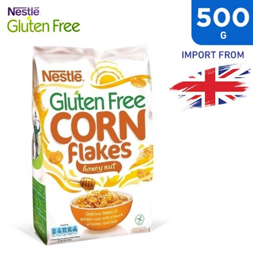 Buy Nestle Gluten Free Corn Flakes Honey Nut 500 g | توصيل ...