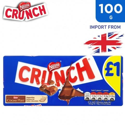 Nestle Crunch Milk Chocolate 100 g