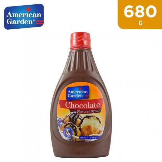 American Garden Chocolate Syrup 680 g