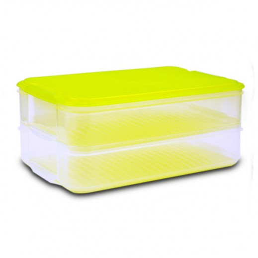 Varyag Stackable Storage Box Large Green - 2 Pieces