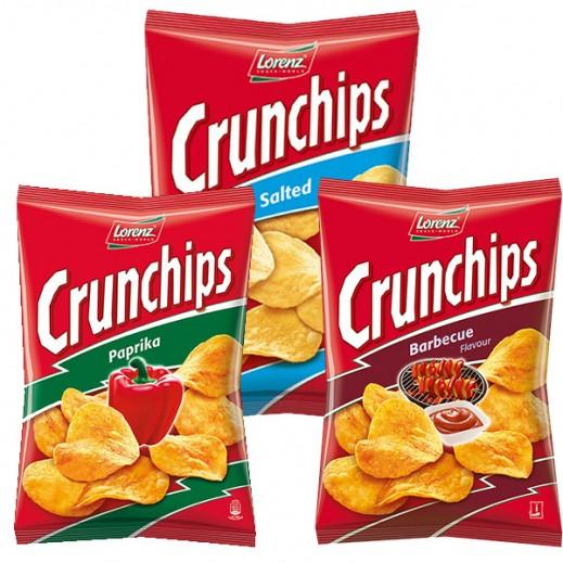 Lorenz Crunchips Assorted Chips - 3 Pieces