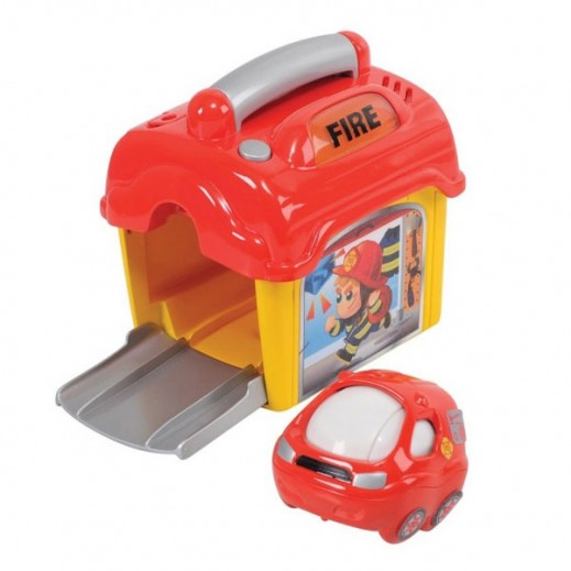 PlayGo Pop out Rescue Fire Station