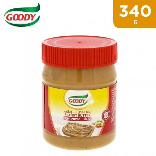 Goody Chunky Peanut Butter Spread 340 g