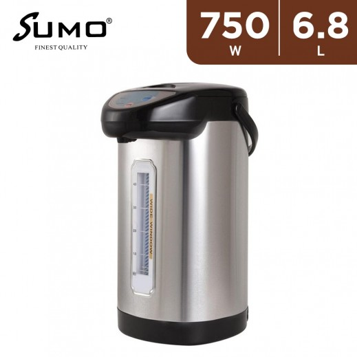 Sumo 750W Electric Air Pot 6.8L - Stainless Steel