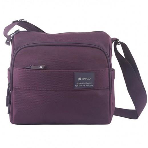 Binhao Shoulder Bag - Purple