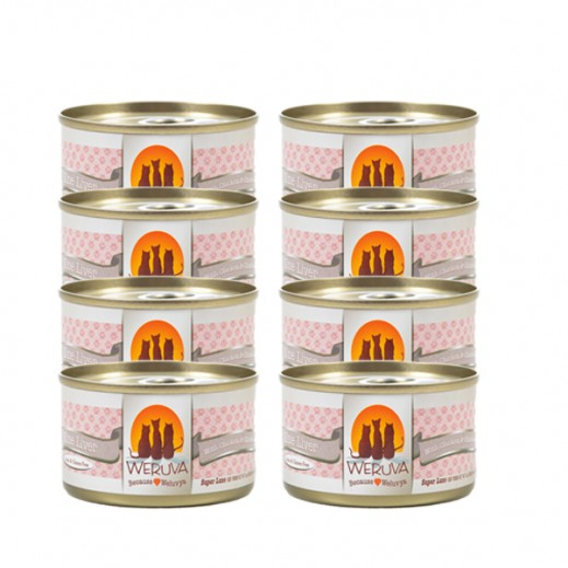 Weruva Nine Liver With Chicken & Chicken Liver In Gravy Cat Food 8 x 85 g