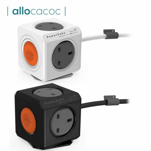 Allocacoc PowerCube Extended Remote Set 1.5m 4way