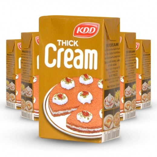 KDD Thick Cream Gold 250 ml (5+1 Free)